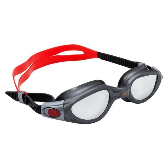 מוצרי זוגס לנשים Zoggs Phantom Elite Mirror - אפור/אדום