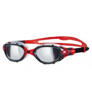 מוצרי זוגס לנשים Zoggs Predator Flex Mirror - אדום