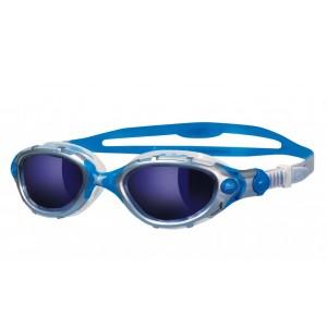 מוצרי זוגס לנשים Zoggs Predator Flex Mirror - כחול