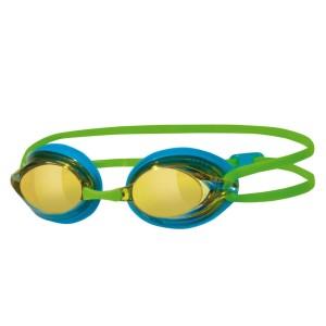מוצרי זוגס לנשים Zoggs Racespex Mirror - כחול/ירוק