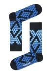 נעלי Happy Socks לנשים Happy Socks Faded Snake - שחור/כחול