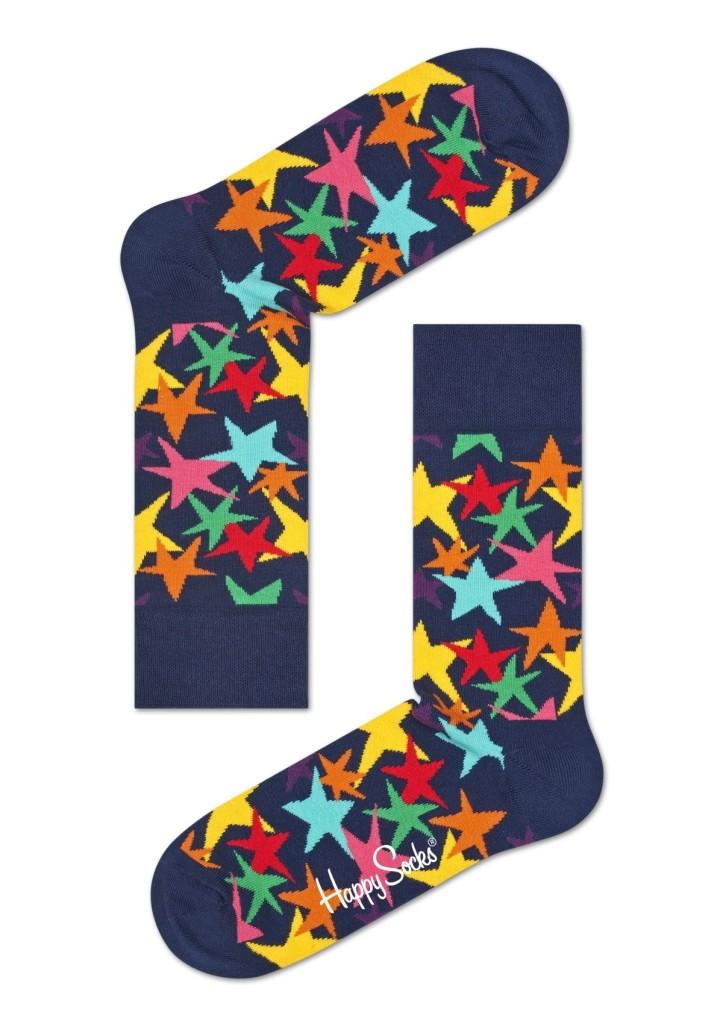 נעלי Happy Socks לנשים Happy Socks Stars - כחול כהה