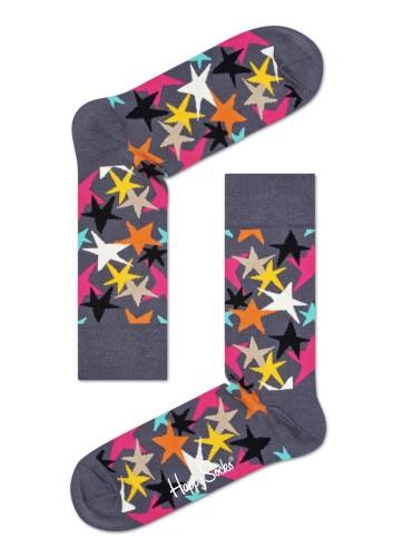 נעלי Happy Socks לנשים Happy Socks Stars - אפור