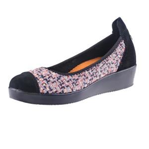 נעלי ברני מב לנשים Bernie Mev Smooth Felicity - צבעוני/שחור