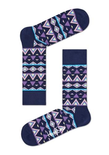 נעלי Happy Socks לגברים Happy Socks Temple - כחול/תכלת