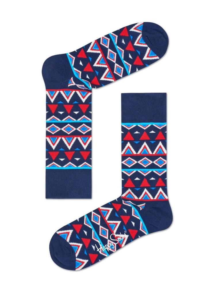 מוצרי Happy Socks לגברים Happy Socks Temple - כחול כהה