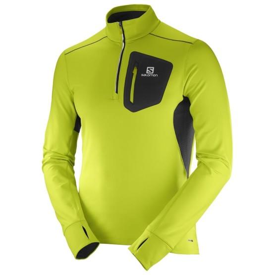 מוצרי סלומון לגברים Salomon Trail Runner Warm Mid - צהוב