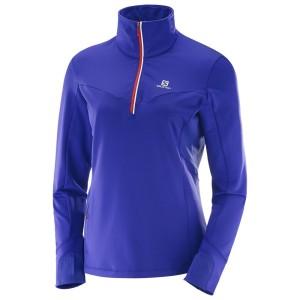 מוצרי סלומון לנשים Salomon Trail Runner Warm Mid - כחול