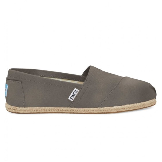 מוצרי Toms לנשים Toms Washed Canvas - אפור