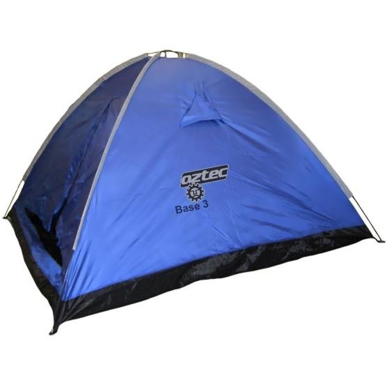 מוצרי אצטק לנשים Aztec FU-301 Base Four Man Tent - כחול