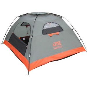 מוצרי אצטק לנשים Aztec Nirvana Four Man Tent - אפור