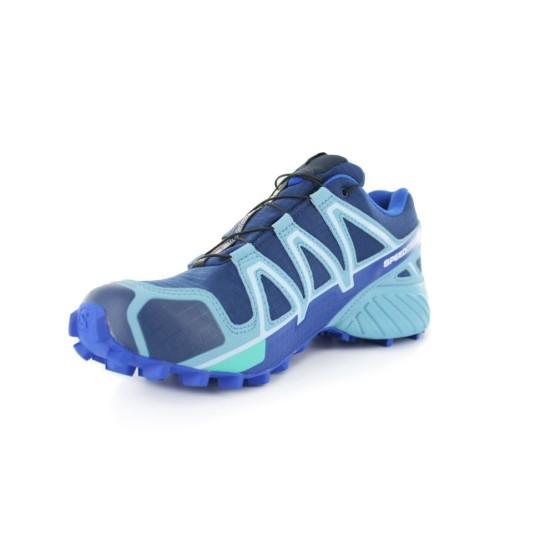מוצרי סלומון לנשים Salomon  Speedcross 4 GTX - כחול/תכלת