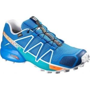מוצרי סלומון לגברים Salomon Speedcross 4 GTX - כחול