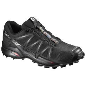 מוצרי סלומון לגברים Salomon Speedcross 4 - שחור מלא