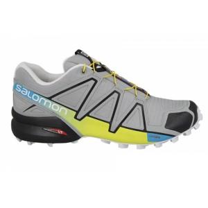 מוצרי סלומון לגברים Salomon Speedcross 4 - אפור/צהוב