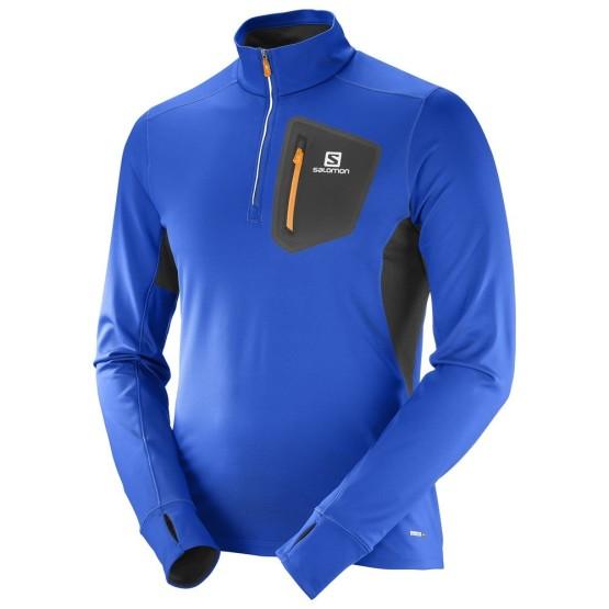 מוצרי סלומון לגברים Salomon Trail Runner Warm Mid - כחול