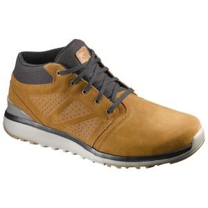 נעלי סלומון לגברים Salomon Utility Chukka - חום בהיר