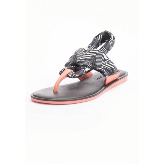 נעלי זקסי לנשים Zaxy Vibe Sandal - שחור/לבן