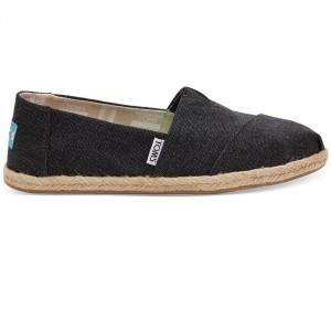 נעלי Toms לנשים Toms Washed Canvas - שחור