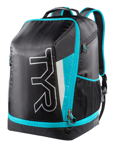 מוצרי TYR לנשים TYR Apex Tranaition Backpack - שחור/תכלת