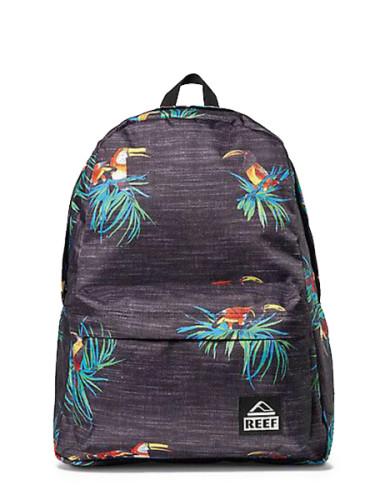 מוצרי ריף לנשים Reef Moving On Backpack - שחור פרחוני