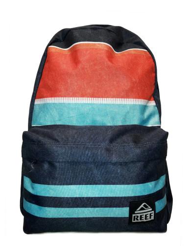 מוצרי ריף לנשים Reef Moving On Backpack - כחול/כתום
