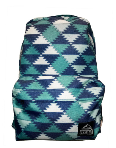 מוצרי ריף לנשים Reef Moving On Backpack - כחול/לבן