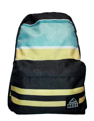 מוצרי ריף לנשים Reef Moving On Backpack - שחור/צהוב