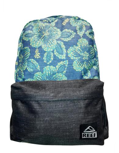 מוצרי ריף לנשים Reef Moving On Backpack - שחור/תכלת