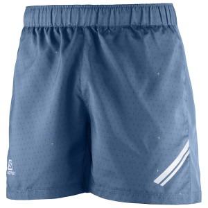 מוצרי סלומון לגברים Salomon Agile Short - כחול