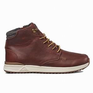 מוצרי ריף לגברים Reef Rover Hi Boot - אדום