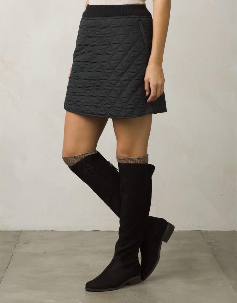 מוצרי Prana לנשים Prana Diva Skirt - שחור