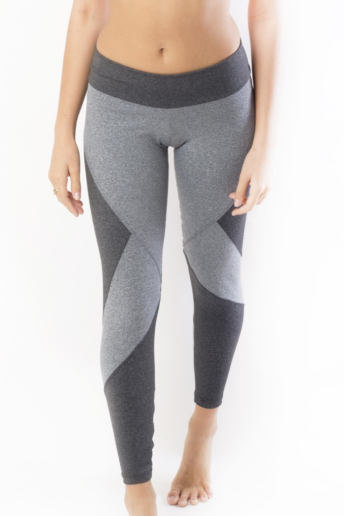 מוצרי ריו גים לנשים Rio Gym Begonia Legging - אפור