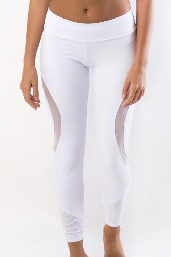 מוצרי ריו גים לנשים Rio Gym Bella Legging - לבן