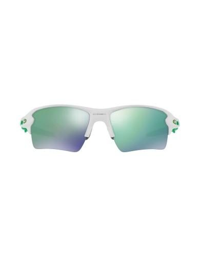 מוצרי Oakley לגברים Oakley FLAK 2.0 XL POLISHED WHITE JADE IRID - ירוק