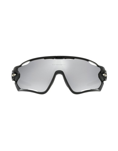 מוצרי Oakley לגברים Oakley Jaw breaker polished blk chrome irid - אפור/שחור