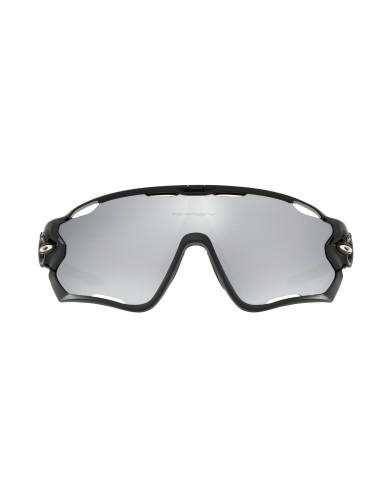 מוצרי Oakley לגברים Oakley Jaw breaker polished blk chrome irid - אפור/שחור