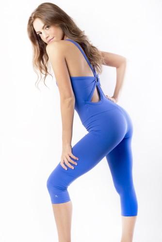 מוצרי ריו גים לנשים Rio Gym Lido Jumpsuit - כחול
