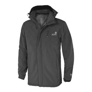 מוצרי אצטק לגברים Aztec puffin softshell jacket - אפור