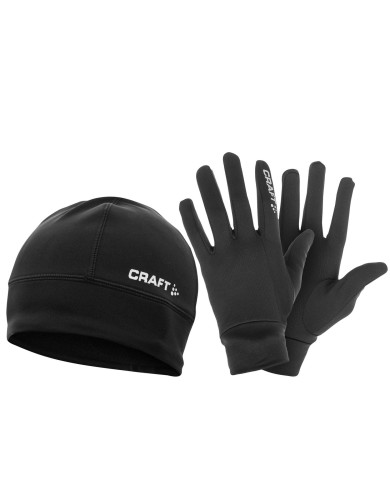 מוצרי Craft לנשים Craft Gloves&Hat - שחור