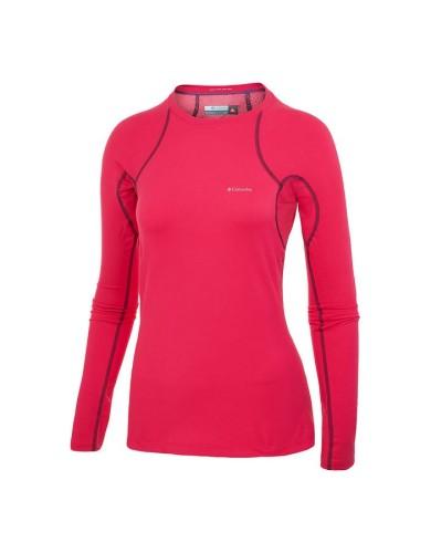 מוצרי קולומביה לנשים Columbia Heavy Weight Stretch Long Sleeve - ורוד