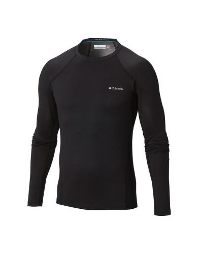 מוצרי קולומביה לגברים Columbia Heavy Weight Stretch Long Sleeve - שחור