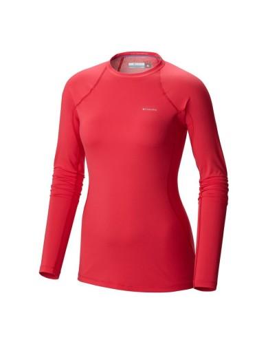 מוצרי קולומביה לנשים Columbia Midweight Stretch Long Sleeve Top - אפרסק