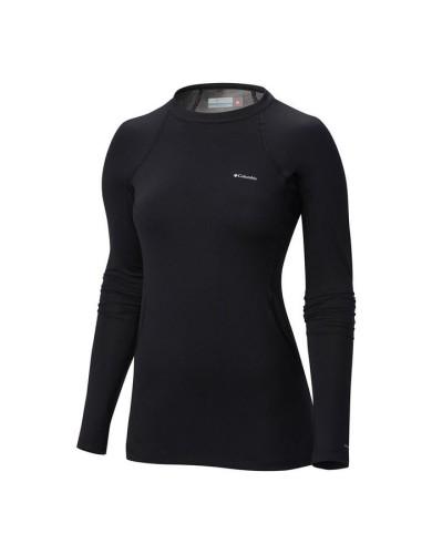 מוצרי קולומביה לנשים Columbia Heavy Weight Stretch Long Sleeve - שחור