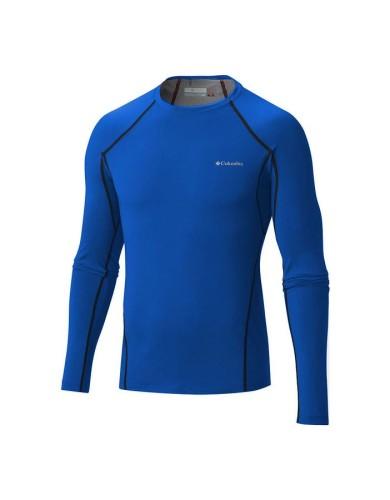 מוצרי קולומביה לגברים Columbia Heavy Weight Stretch Long Sleeve - כחול
