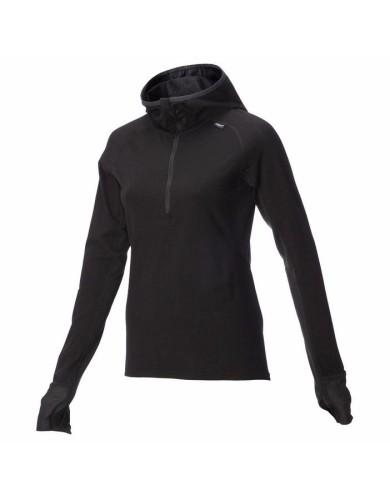 מוצרי אינוב 8 לנשים Inov 8 Merino long sleeve mid layer - שחור