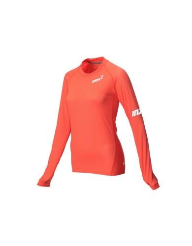 מוצרי אינוב 8 לנשים Inov 8 Long sleeve base layer - כתום