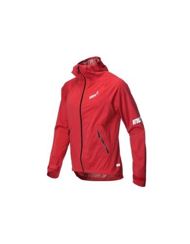 מוצרי אינוב 8 לגברים Inov 8 Raceshell waterproof running jacket - אדום