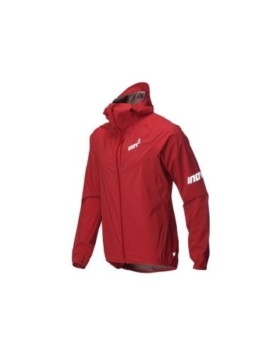 מוצרי אינוב 8 לגברים Inov 8 Stormshell waterproof running jacket - אדום