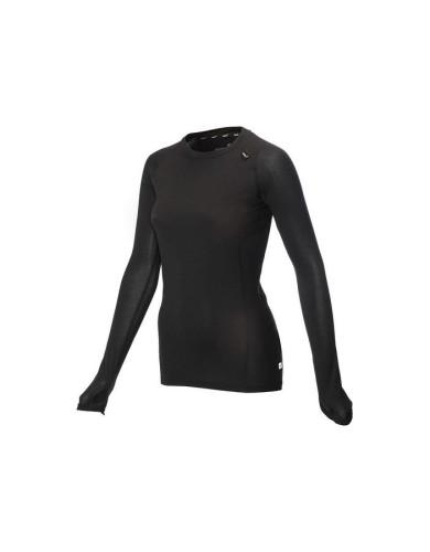 מוצרי אינוב 8 לנשים Inov 8 long sleeve merino base layer - שחור